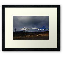 The Tatra mountains near Poprad, Slovakia Framed Print