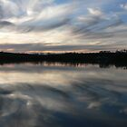 Murray River Sun Set by RiverRat