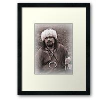 Viking in York #24, Thorstene Oxleg at rest Framed Print