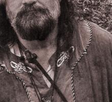 Viking in York #24, Thorstene Oxleg at rest Sticker