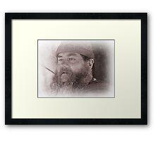 Viking in York #22, Terry Framed Print