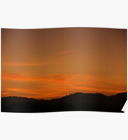 Mojave Sunset Poster