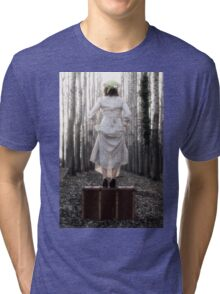 step into my new life Tri-blend T-Shirt