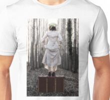 step into my new life Unisex T-Shirt