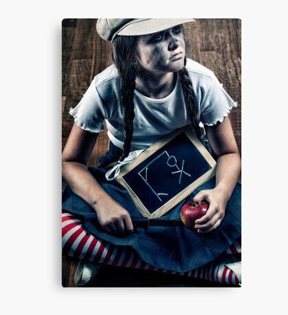 school girl Canvas Print