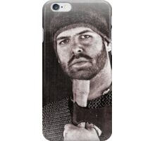 Viking in York #20, Ragnar the axeman relaxing iPhone Case/Skin