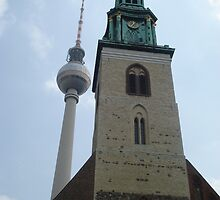 St. Mary's Church, Berlin (10178) by mukudjmask