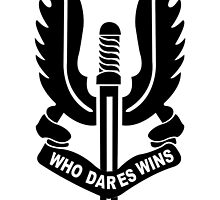 Who Dares Wins by ReddPhoenix