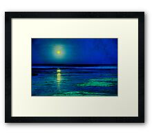 Ribbon of light Framed Print