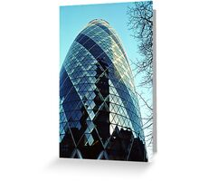 The Gherkin Greeting Card
