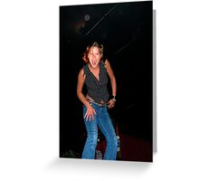 Lets get on the bar! Greeting Card