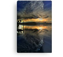 Sun Set Blues Metal Print