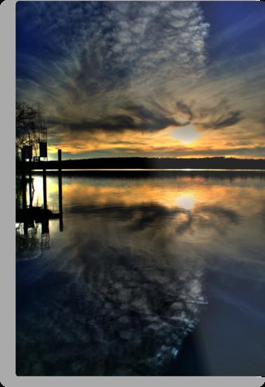 Sun Set Blues by Dave  Hartley