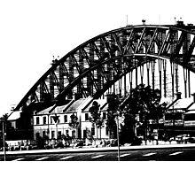 Harbour Bridge View 6 Photographic Print