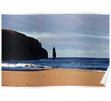 Sandwood Bay Sea Stack Poster