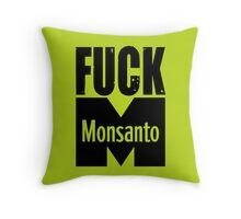 Fuck Monsanto Throw Pillow