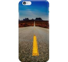Monument Valley, USA - square photo iPhone Case/Skin