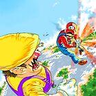 Majin Mario: The Red Kamehameha by TheGreyNinja