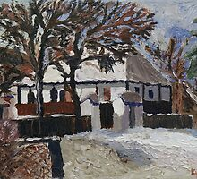 Country Living Museum, Transylvania by Andypainting
