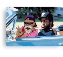 Ice Cube x Master Roshi Canvas Print