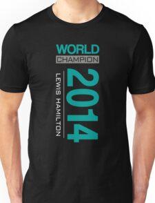 Lewis Hamilton - 2014 WDC Unisex T-Shirt