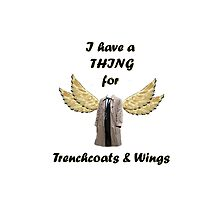"""Trenchcoats & Wings"" - Supernatural-inspired! by luvchildofelvis"