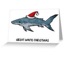 Great White Greeting Card