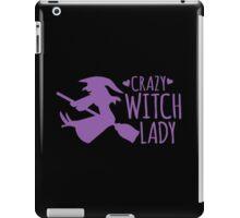 Crazy Witch Lady  iPad Case/Skin