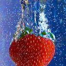 Splish Splash Strawberry by Trudy Wilkerson