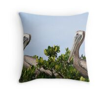 Pelican's Roost Throw Pillow