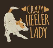 Crazy Heeler Lady by jazzydevil