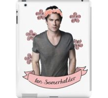 Ian Somerhalder iPad Case/Skin