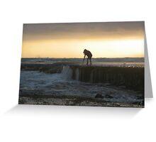 On Waters Edge Greeting Card