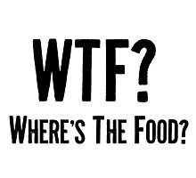 Where's The Food? Photographic Print