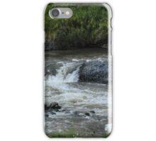 Rapids in a River in Banos iPhone Case/Skin