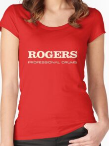 Rogers Professional Drums  Women's Fitted Scoop T-Shirt