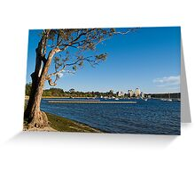 Crawley Bay, Perth Western Australia Greeting Card