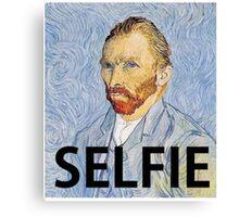 Van Gogh Selfie Canvas Print