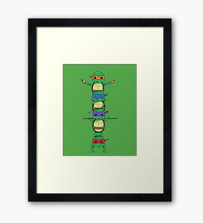 Ninja Turtle Framed Print