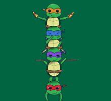 Ninja Turtle Womens Fitted T-Shirt