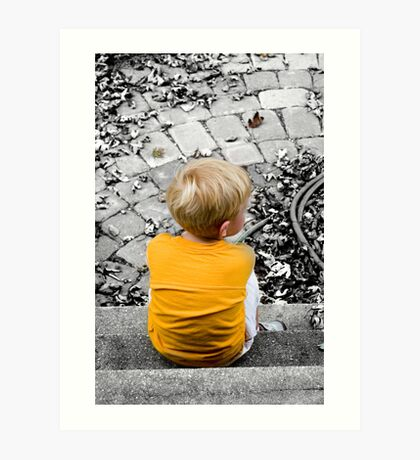 Child Waits Art Print
