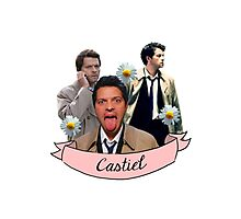 Castiel Photographic Print