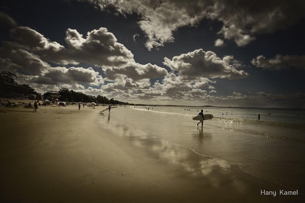 Surfing in Noosa  by Hany  Kamel