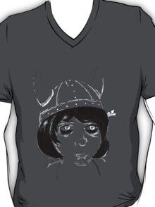 Violet Girl Art Tee T-Shirt
