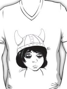 Violet Girl Art Tee T-Shirt