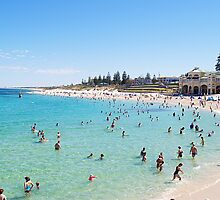 Cottesloe Beach, Perth, Western Australia by Adrian Lord