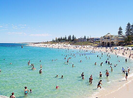 Cottesloe Beach, Perth, Western Australia by Adrian Lord