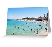 Cottesloe Beach, Perth, Western Australia Greeting Card