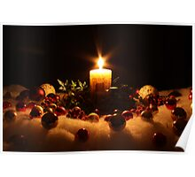 A Candle for Christmas Poster