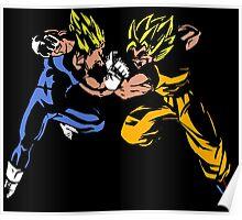Goku versus Vegeta Poster